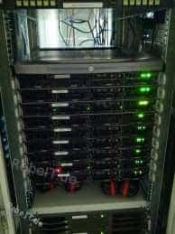 Server-Betreuung im Rechenzentrum