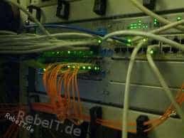 Netzwerkverteilung per Switch