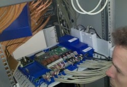 Bau und Betreuung einer ISDN-Telefonanlage in 2012