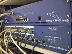Bau und Betreuung einer ISDN-Telefonanlage in 2004